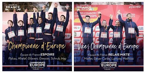 Résutats : Championnats d'Europe de Cross Country